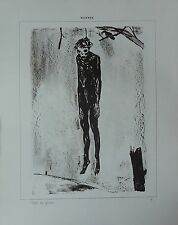 Suisse 1916 MAURICE BARRAUD : SILENCE 12 lithos (1/50 sur fabriano) SIGNÉ