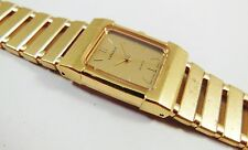 Lassale by Seiko Gold Tone Stainless Steel 1E50-0140 Sample Watch NON-WORKING