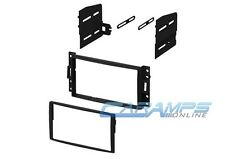 DOUBLE 2 DIN CAR STEREO RADIO CD PLAYER DASH MOUNTING KIT INSTALLATION TRIM