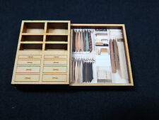 """Dollhouse Miniature 1/4"""" Scale 1:48  Book Shelf  Made of  Plywood #Z297T"""