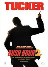 RUSH HOUR 2 Movie POSTER 27x40 B Chris Tucker Jackie Chan Harris Yulin Zhang