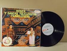 """Conjunto Tipico Tamaulipeco """"Musica y Danzas Folkloricas Tamaulipecas"""" LP EX"""