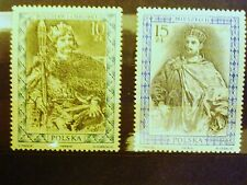 POLAND-STAMPS MNH Fi2983-84 SC2838-39 Mi3131-32 - Polish Kings - 1987, clean