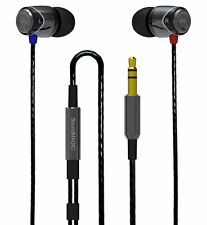 SoundMAGIC E10 Award Winning In Ear  Earphones - Black & Silver - NEW- UK SELLER
