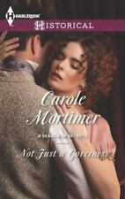 Not Just a Governess by Mortimer, Carole