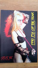 GREAT KAT pic of the year magazine PHOTO/Poster/clipping 11x8 inches