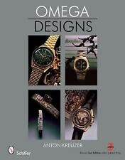 OMEGA DESIGNS NEW HARDCOVER BOOK