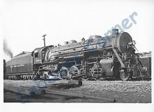 New York Central #1954 East Alton Illinois 1950  7x5 B&W Photo (0975)