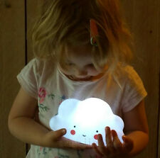 Lovely Cloud LED Portable Night Light Kids Baby sleeping Lamp Bedroom Home Decor