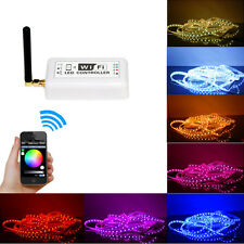 Mobile Phone Smartphone Wireless Wi-Fi RGB LED Controller For LED Strip Hoc