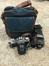 Minolta XG-7 35mm SLR Film Camera Rokkor-X 55MM 1:1.7 Lens Strap