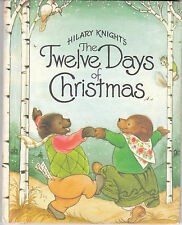 Hilary Knight's The Twelve Days of Christmas 1981 Weekly Reader Book Club