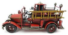 Blechauto Feuerwehr Löschzug Spritzenwagen Modellauto