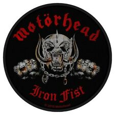 Official Merchandise Woven Sew-on Patch Heavy Metal Rock MOTORHEAD Iron Fist #A