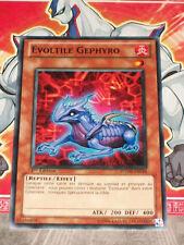 Carte YU GI OH EVOLTILE GEPHYRO PHSW-FR016 x 3