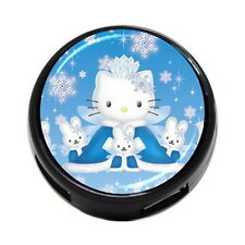Hello Kitty 4 Port USB Hub 2.0 High speed For Laptop PC Notebook Gift NEW