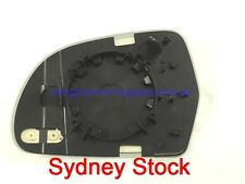 RIGHT DRIVER SIDE AUDI A5 S5 2 DOOR COUPE 2007+ MIRROR GLASS WITH BASE