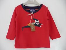 Joules New Baby Boy Top 3-6 months £17.95 Baby Jack Christmas Elf Long Sleeve