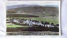 Tomintoul, Highest Village In The Highlands. Postcard