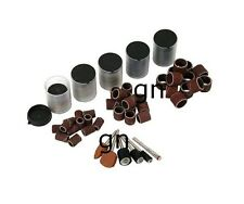 206Pc Drum Sanding Band/Wheels & Cutting Disc Bit Set Fits Rotary Drill GN3126