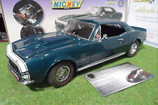 CHEVROLET CAMARO SS RS 427 NICKEY au 1/18 EXACT DETAIL WCC204S voiture miniature