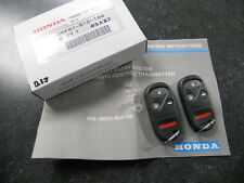 GENUINE HONDA CRV CR-V KEYLESS ENTRY TRANSMITTER REMOTE KIT (2 FOBS / REMOTES)