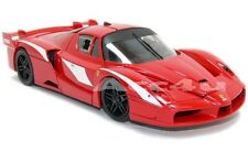 Hot Wheels Ferrari Red FXX Evoluzione 1:18 Diecast Model Car