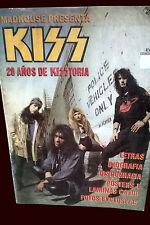 KISS  - 20 YEARS of HISTORY - Madhouse Magazine Argentina