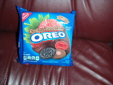 OREO Cookies Limited Edition Chocolate Strawberry Flavor Cream 10.7 0z pkg New