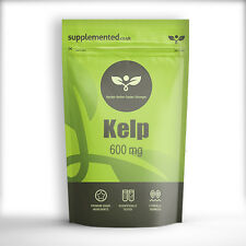 KELP 600mg 90 CAPSULES Sea Kelp, natural source of Iodine, thyroid