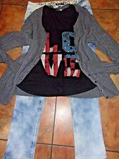 Women's Plus Clothing Lot  Acid Wash Jeans Tank Top Old Navy Sweater 14/XL