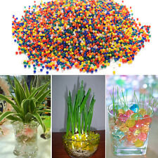 10000xRainbow Soft Water Bullet Balls Gun Pistol Toy Plant Grow Water Gel Beads