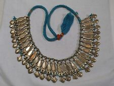 Antique Bedu Bedouin Tribal Cleopatra Wedding Necklace or Kaffat - Headband -j