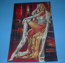 MARVEL HEROES X-MEN EMMA FROST WHITE QUEEN PIN UP JUSKO