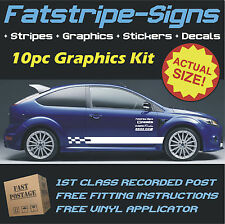 FORD FOCUS STRIPES CAR VINYL GRAPHICS ST ZETEC DECALS 1.1 1.2 1.3 1.4 1.6 1.8 D