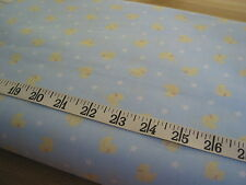 "983 FABRIC Woven Rubber Ducky Print 100% Cotton 45"" W"