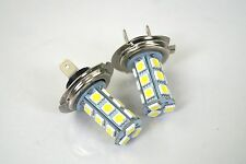 BMW 3 SERIES E90 2005+ 2 X H7 18 SMD LED 12V WHITE HEADLIGHT LIGHT BEAM BULBS