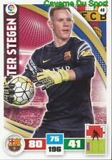 048 TER STEGEN GERMANY FC.BARCELONA CARD ADRENALYN LIGA 2016 PANINI