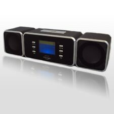 PORTABLE DIGITAL SPEAKER WITH USB MP3/4 MICRO SD/TF FM RADIO LCD DISPLAY