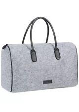 Kenneth Cole large shoulder Gray Black Duffle Bag Weekender Travel Gym Handbag