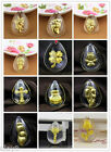 NEW PURE 999 Gold 24K Yellow Gold / Women's Men's Crystal Pendant