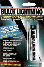 PRO RELEASE BLACK LIGHTNING BOW WAX STRING LUBRICANT GSW96 ARCHERY BOWSTRING
