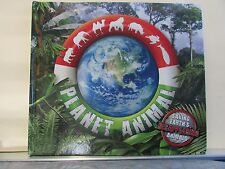 Planet Animal Saving Earths Disappearing Animals Book Cards Map Wall Poster