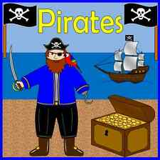 PIRATES resource pack on CD teachers- topic, KS1, EYFS + PIRATE SHIP role play