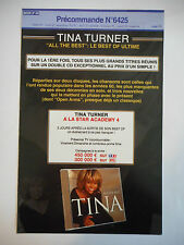 ▓ PLAN MEDIA ▓ TINA TURNER : ALL THE BEST ( THE BEST OF ULTIME ) (PRÉCO N°6425)