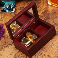 Rectangle Wood Jewelry  Wind Up Music Box :  Harry Potter Hedwig's Theme