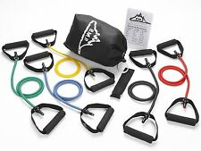 Resistance Band Set 5 Bands Fitness Equipment Train Weight loss Body Power Sport