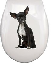 CHIHUAHUA WC Aufkleber toilet sticker C3 wasserdicht waterproof