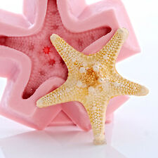 Knobby Starfish Silicone Mold Chocolate Fondant Soap Wax Candle Resin  (861)