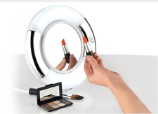 BELDRAY COSMETICS DOUBLE SIDED MIRROR WITH LIGHT 5X Magnification
